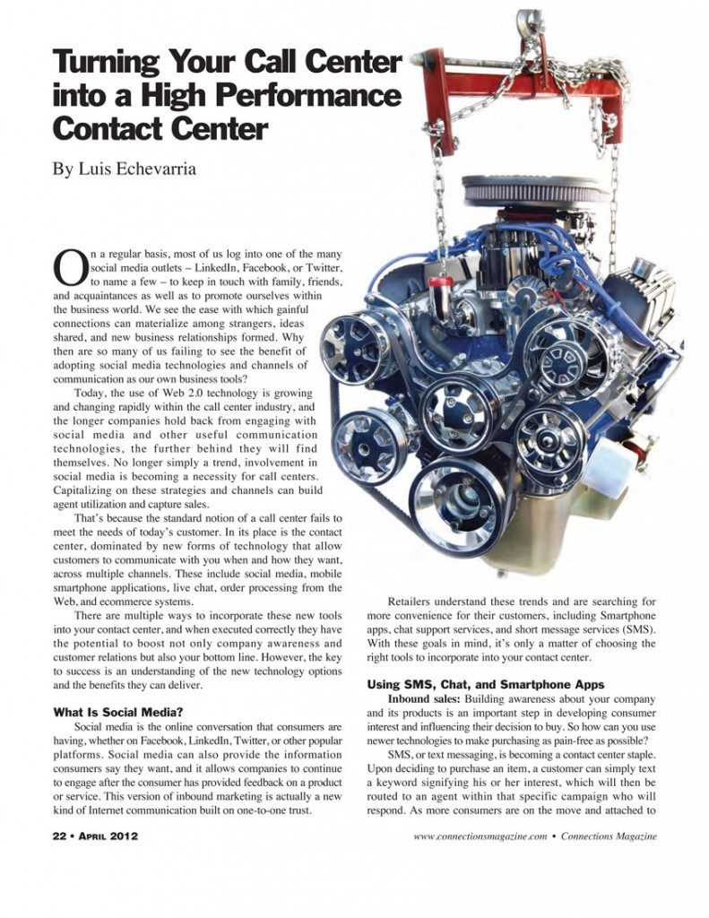 connections-magazine-april-2012-turning-your-call-center-into-a-contact-center-111
